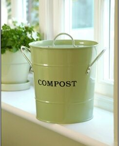 Countertop Compost Bucket with Removable Liner