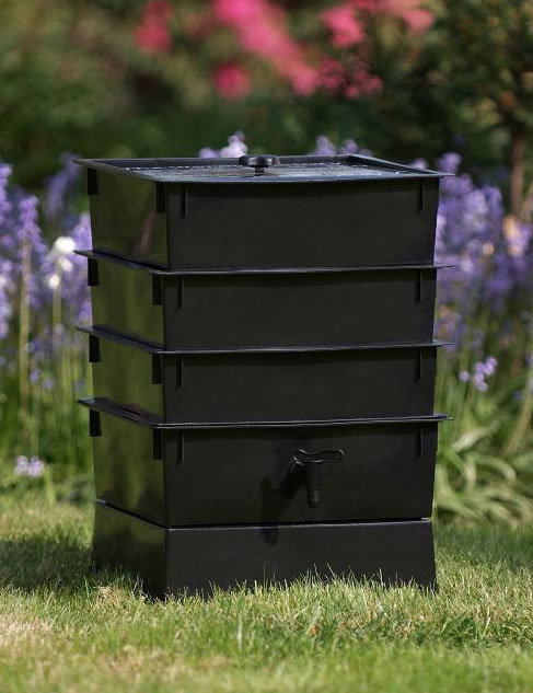 Worm Factory Vermicomposting Stackable Composting Bin