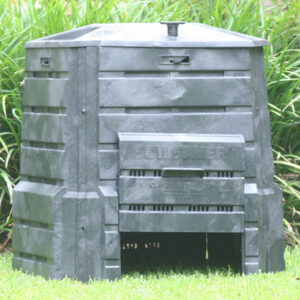 new home depot outdoor garden compost bin 85-gallon composter