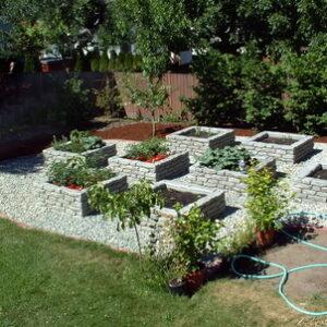 Square Raised Bed Planter