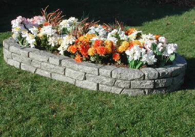 Oval Raised Bed Planter