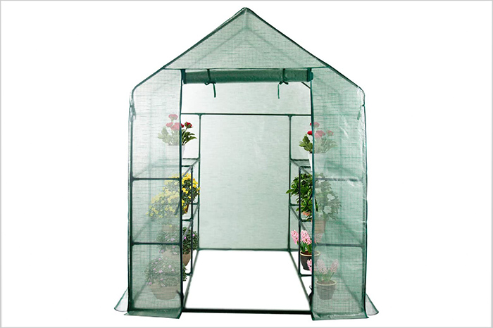 LINLUX Large Portable Walk-in Plant Greenhouse
